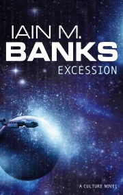 Excession: book cover